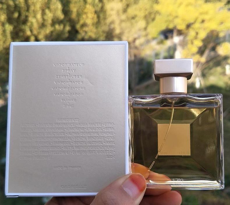 Paris moda ouro 100ml perfume para mulheres com longa duração da longa fragrância bom cheiro parfum famoso com frete grátis