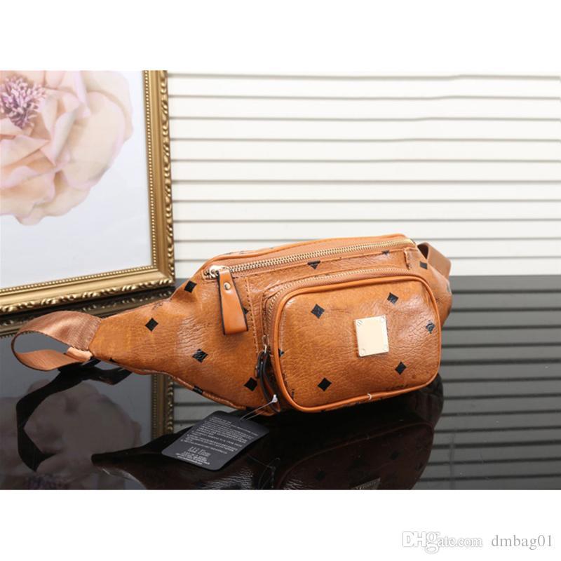 sacchetto della cassa di colore rosa Sugao marsupio lusso Fannypack per gli uomini e le donne di lettere cuoio dell'unità di elaborazione di sport outdoor borse tracolla crossbody vita