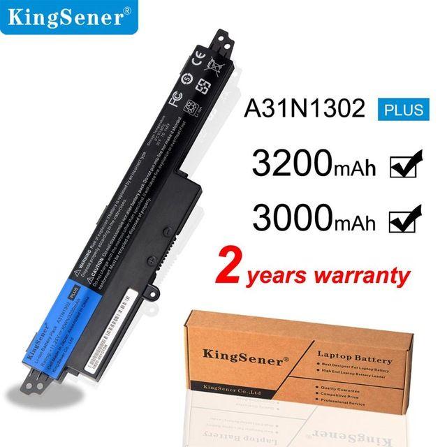 aptop Запчасти для ноутбуков Батареи KingSener Корея Cell 31N1302 Аккумулятор для ASUS VivoBook 200 200MA 200M X200LA F200 X200CA R200CA 11,6 \»A31LM ...