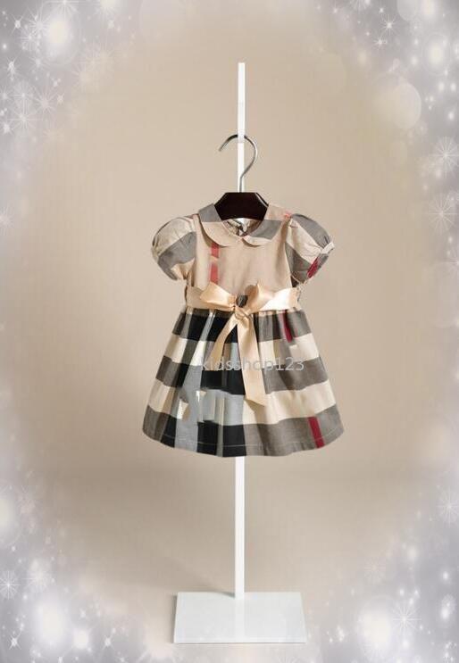 Robe bébé fille Princesse enfants Costume Robes de fête d'anniversaire d'enfants Robe Designer Robes pour Fille Robe d'été