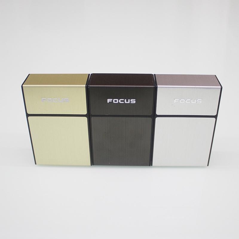 Новый красочный пластиковый Алюминий Контейнер для хранения портсигар портативного Флипа инновационного дизайн Preroll курение табак Box Holder DHL