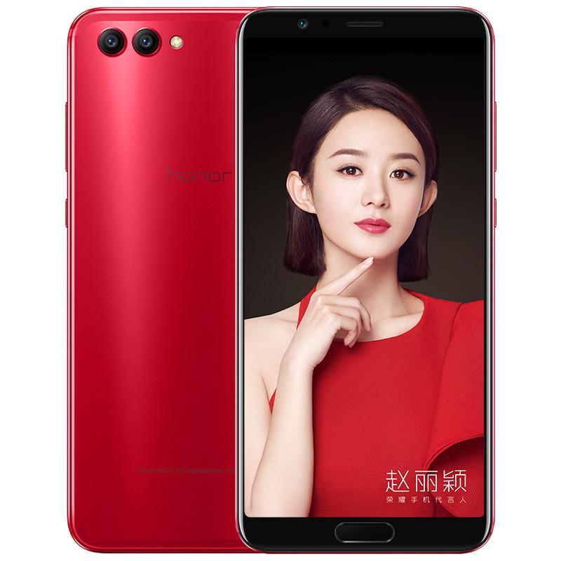 "Original Huawei Honor V10 4G LTE Cell Phone 6GB RAM 64GB 128GB ROM Kirin 970 Octa Core Android 5.99"" Full Screen 20MP AI AR OTG NFC Fingerprint ID Face Smart Mobile Phone"