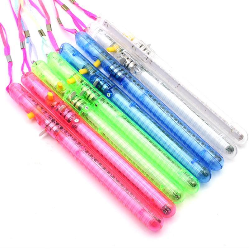 الملونة LED ضوء وامض توهج العصا عصا عيد ميلاد الحزب سواريه 21CM مستعملة شملت مرارا وتكرارا 3 AG13 بطاريات YH1942