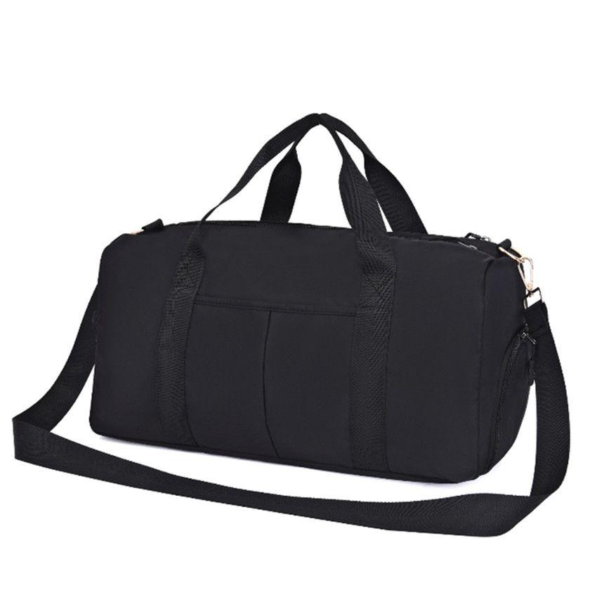 Bolsa de cuero bolsas de viaje bolsa de fitness mujeres duffle afesm