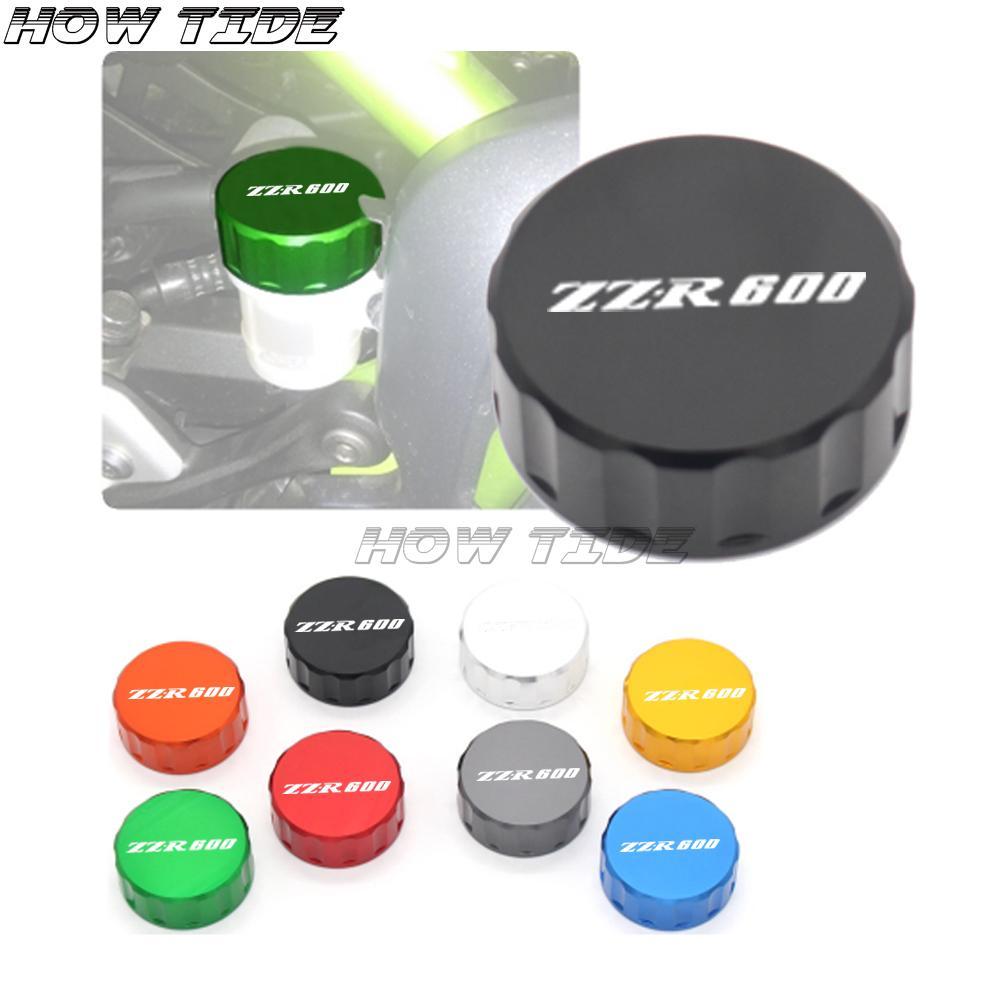 Freno del motociclo pompa freni posteriore serbatoio coperchio del fluido Cap Per ZR1100 ZR750 ZR550 ZZR600 ZZR1200 ZRX1200R