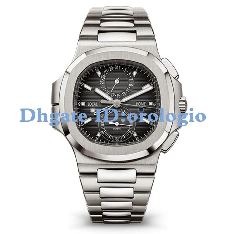 【 code: OCTEU06 】2020 Uhren Chronograph Stoppuhr Herrenuhren kühlen wasserdichte Armbanduhr-Kalender VK64 Fashion Business Mann-Armbanduhren