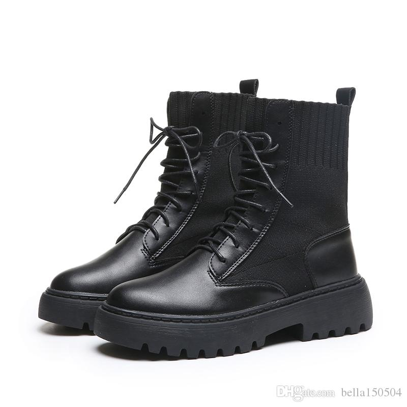 New Designer Sneakers velocidade Runner Mulheres clássico Lace-Up Sock Triplo Preto ankle boots neve do inverno Casual Martin Botas Sapatos casuais