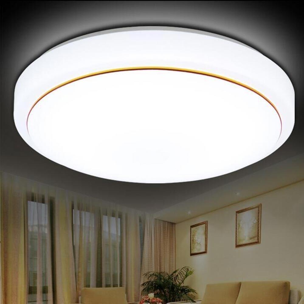 الحديثة جولة أدى ضوء السقف Dia21cm 6W توفير الطاقة غرفة ضوء غرفة المعيشة قاعة ممر المنزل الإضاءة الأبيض