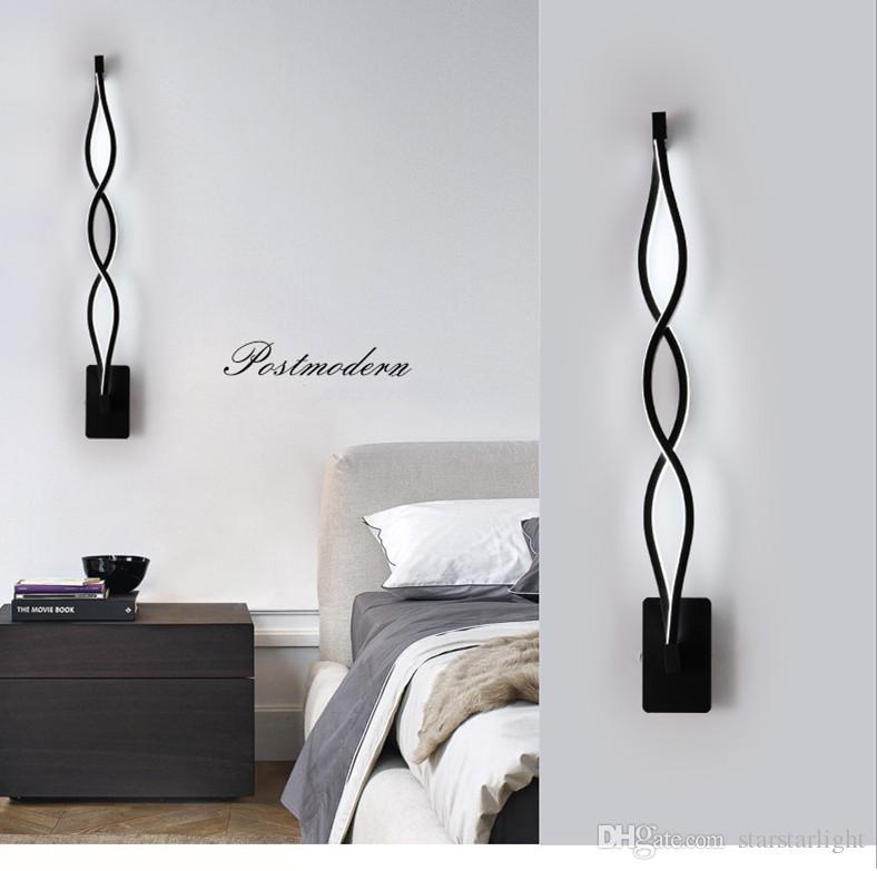 Comodino Lampade Camera Da Letto Design.Acquista Illuminazione Di Parete Di Fondo Acrilico Corridoio Scala