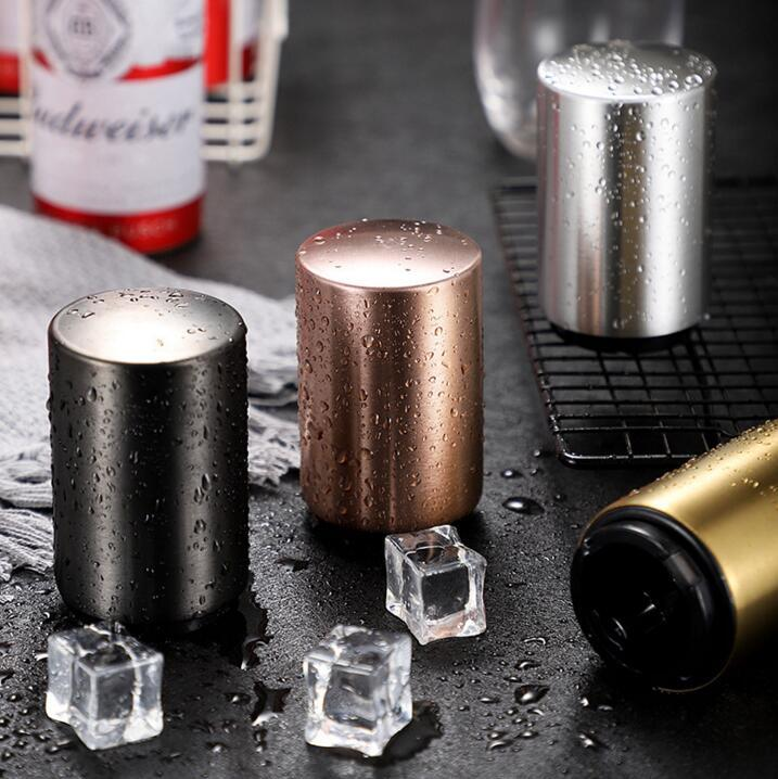 Automatic Gadgets Bar Supplies Stainless Steel Beer Bottle Opener Kitchen Tool