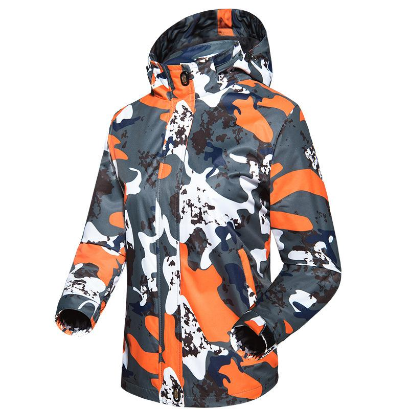Fashion- CANDOMOM Winter Jacket Men Camouflage Softshell Waterproof Jackets Outdoors Therma Cycling Fishing Lovers Clothes