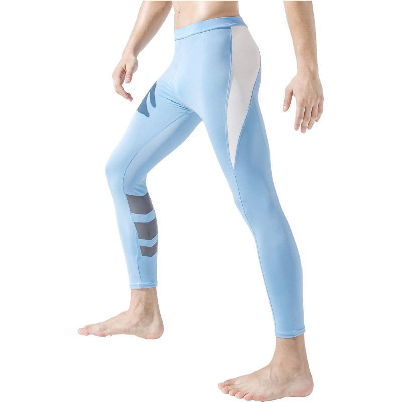 Men Compression Leggings Basketball Tights Gym Fitness Clothing Sports Wear For Man Running Pants Soccer Training Leggins Hombre