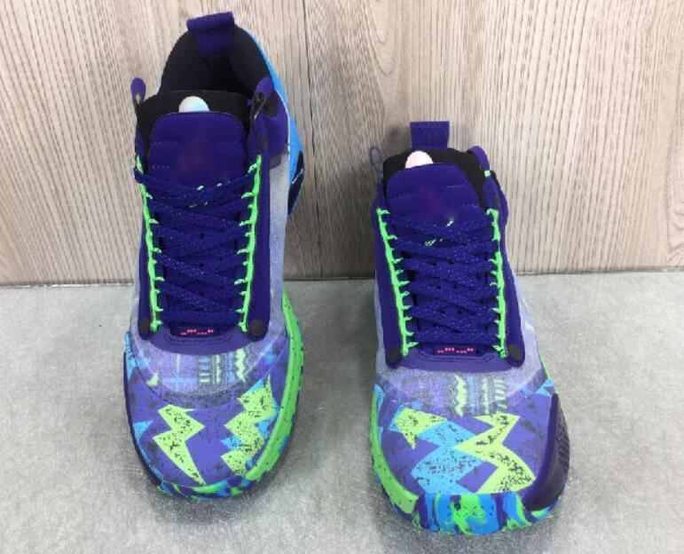 2020 homens XXXIV PF J34 Azul Vazio Bred sapato de basquetebol Sneakers Formação formadores melhores esportes atléticos executando sapatos para homens botas A02