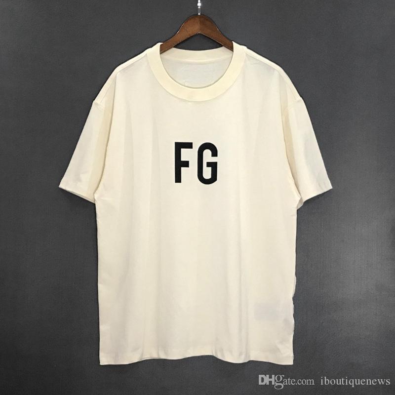 19SS Toptan SIS ESSENTIALS 6TH Hip-Hop Gevşek oturan Popüler Logo Erkek Kısa kollu Erkek Tasarımcı T Shirt Tasarımcı Polo Gömlek Erkekler