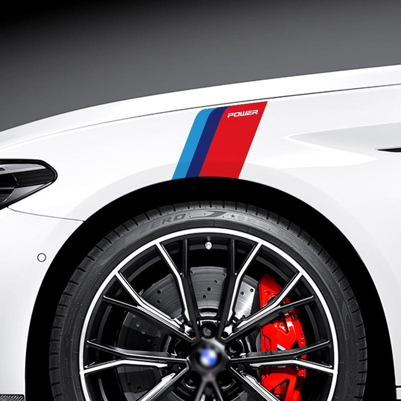 Car-styling disegno PRESTAZIONI posteriore Specchio Sticker maniglia Capo Coda decalcomania della finestra BMW Mini Cooper 3 X1X3X5X6 5 PC