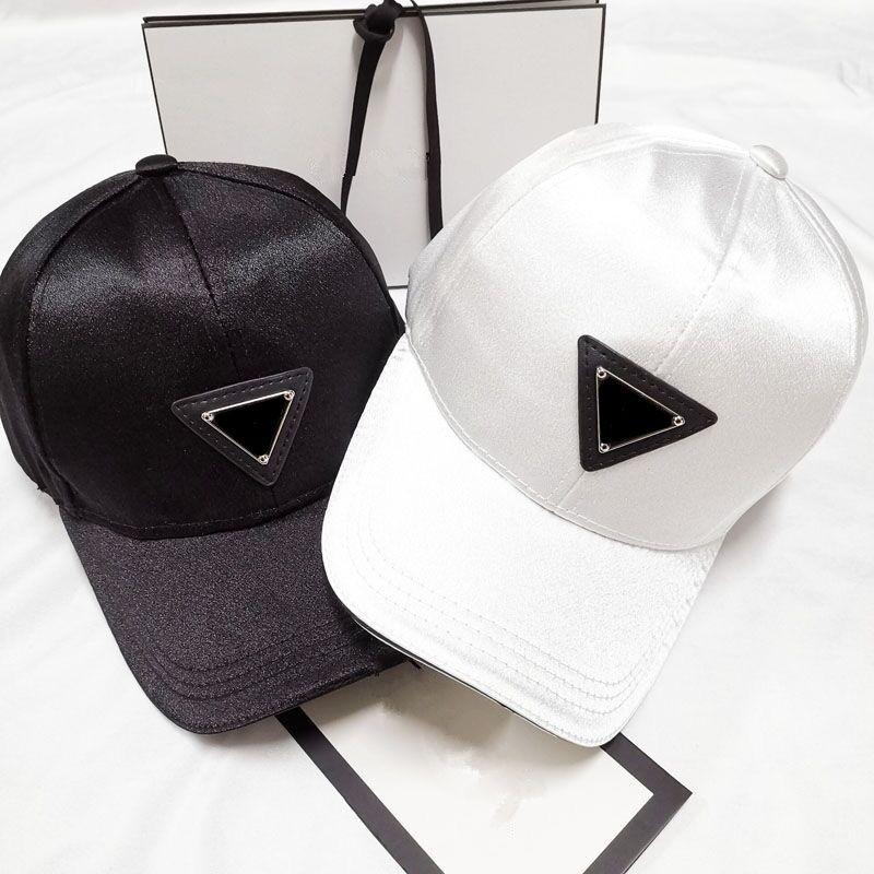 Neue Styles Top-Ball-Kappe Baseball Adjustable Sunless Caps Snapback Black Cap Männer Frauen Designer P-Hut Basketball Cap Casquette Kostenloser Versand