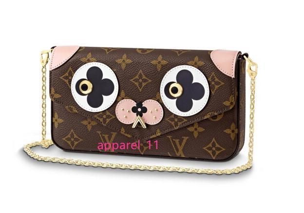 Félicie Pochette M67248 Nuovo Donne Sfilate di moda Borse pelle esotica Borse iconici catena pochette da sera borsa dei raccoglitori