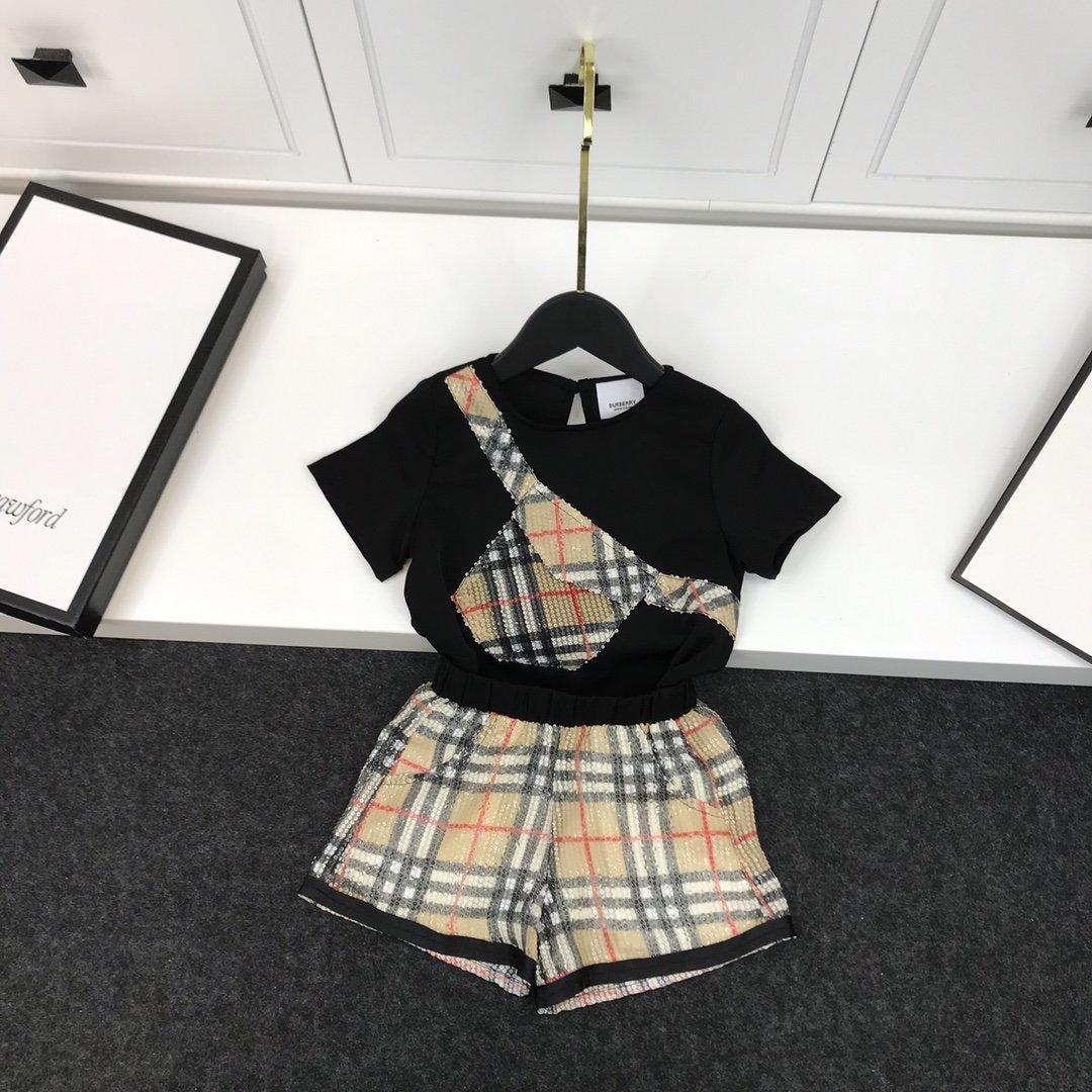 2020 niños conjuntos de alta calidad pantalones superiores + 2pcs nuevos niños ocasionales cómodos clothes68Q6