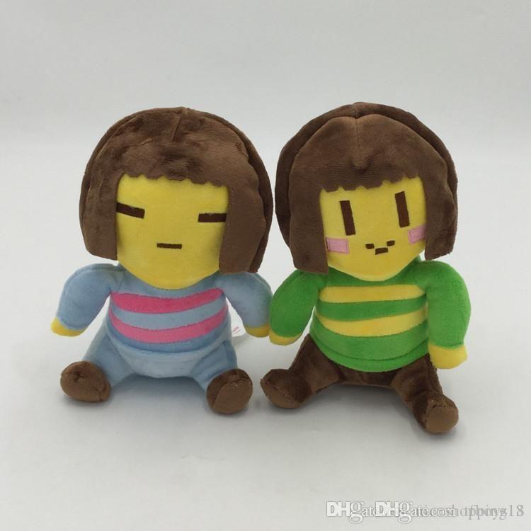 LXH 20см Undertale Brandnew Плюшевые игрушки Undertale Чара Frisk Плюшевые игрушки куклы Мягкие мягкие игрушки для детей Детские рождественские подарки