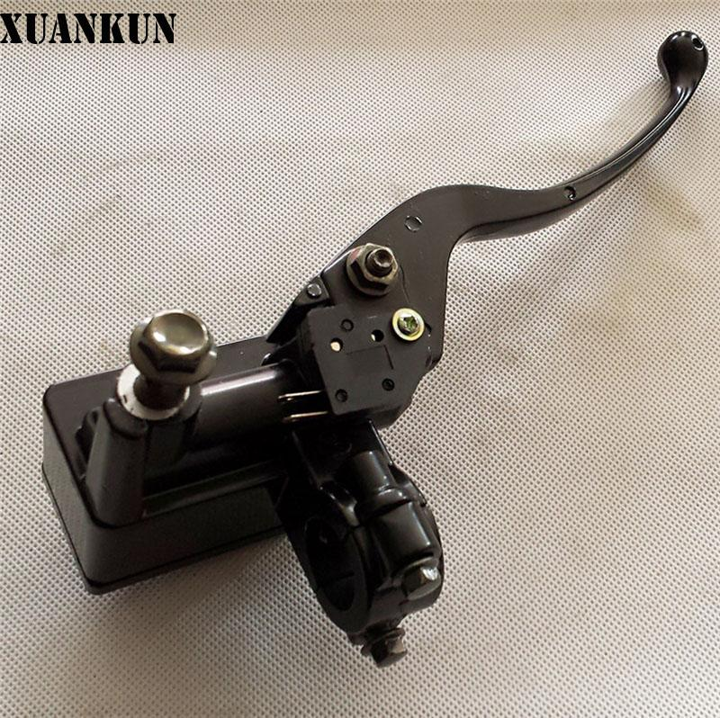 XUANKUN Motorcycle Electric Car Brake On The Brake On The Pump Around Front And Rear Pump