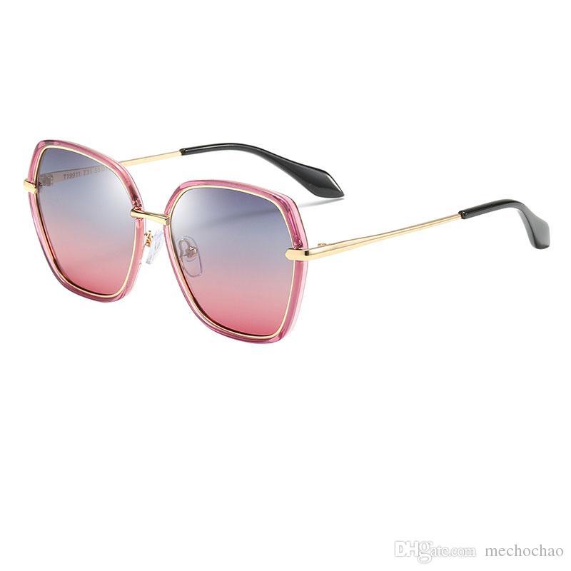 New Fashion Brand polygon hexagonal gold frame sunglasses cute kids HD sunglasses boys and girls HD sunglasses best for children's gifts