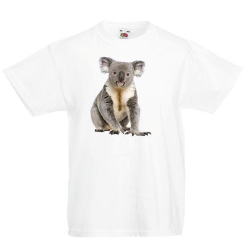 Koala Geometric Kid/'s T-Shirt Children Boys Girls Unisex Top