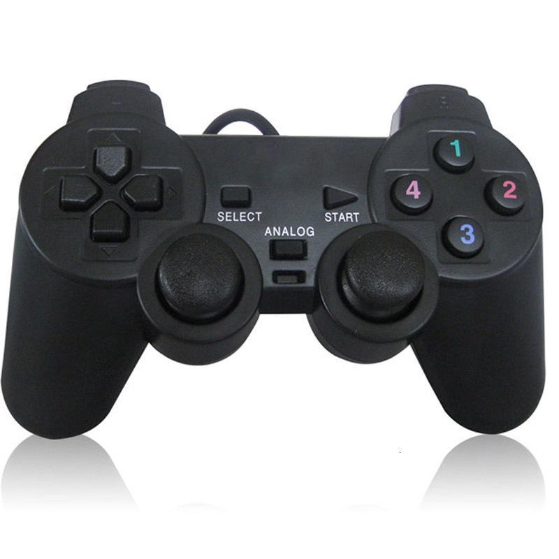 USB-Kabel PC-Game-Controller Gamepad Schock Vibration Joystick Gamepad Joypad-Steuerung für PC Computer-Laptop-Gaming spielen