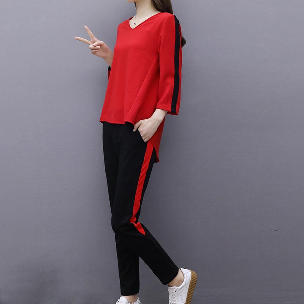 2019 Nuovo Autunno Inverno Femminile 2 piece set Tuta per le donne lungo manica lunga con cappuccio + pantaloni a due pezzi Outfit Women Suit # J30