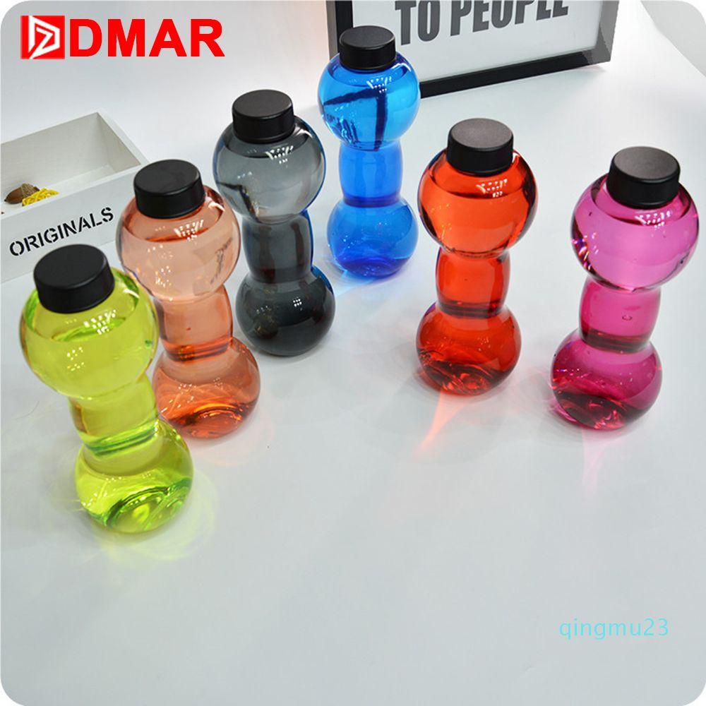Bottiglia all'ingrosso DMAR Dumbbell Acqua Coppa manubri portatili per pesi di forma fisica di esercitazione Crossfit sollevamento pesi Palestra