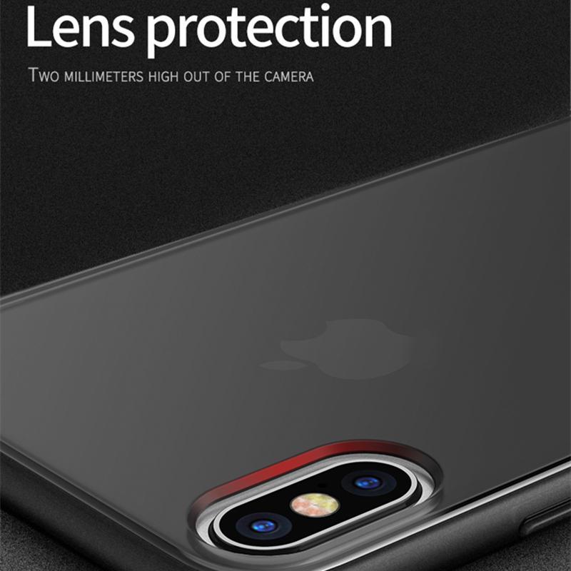 IPhone Xs Xr XsMax 7/8 Artı Kılıf Sihirli Gölge Samsung S10 + S10e Durumda Silikon Kılıf Yumuşak Tampon PC Hibrid Darbeye
