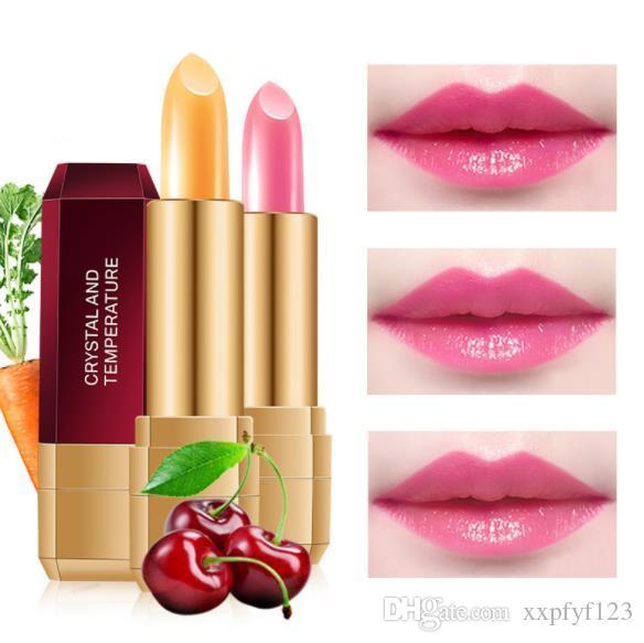 Lip gloss gloss caroteno de milho cereja descoloração batom saudável mulheres grávidas de longa duração hidratante batom aquecimento CZ92