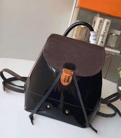 2019 bolsa de tiendas de diseño señoras del bolso de la moda de las mujeres del hombro dhm1998 Negro de cuero bolsa de hombro La Nueva