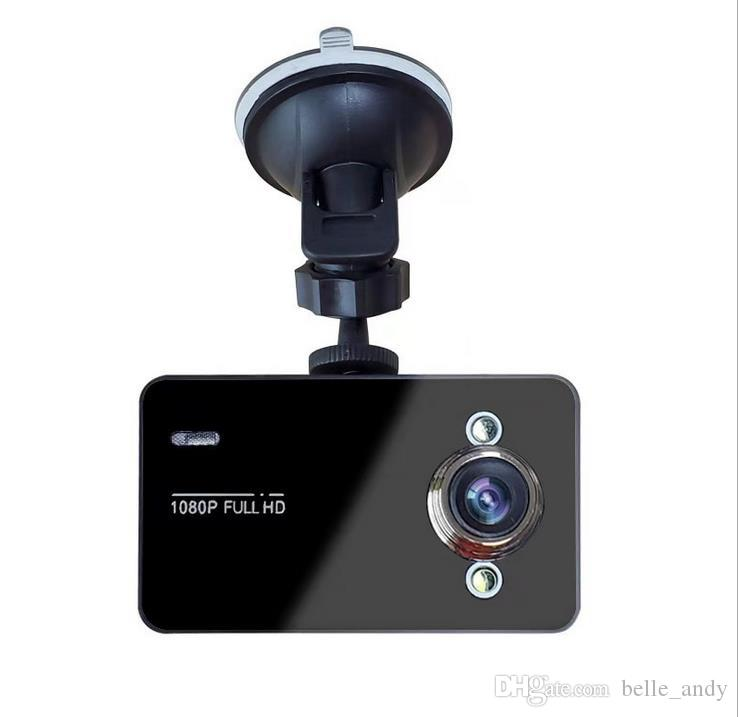 "K6000 2.4 ""كامل HD 720P TFT SCREEN كاميرا سيارة DVR كاميرا مسجل داش كاميرا فيديو مع سيارة G-استشعار Registrator مع صندوق البيع بالتجزئة"