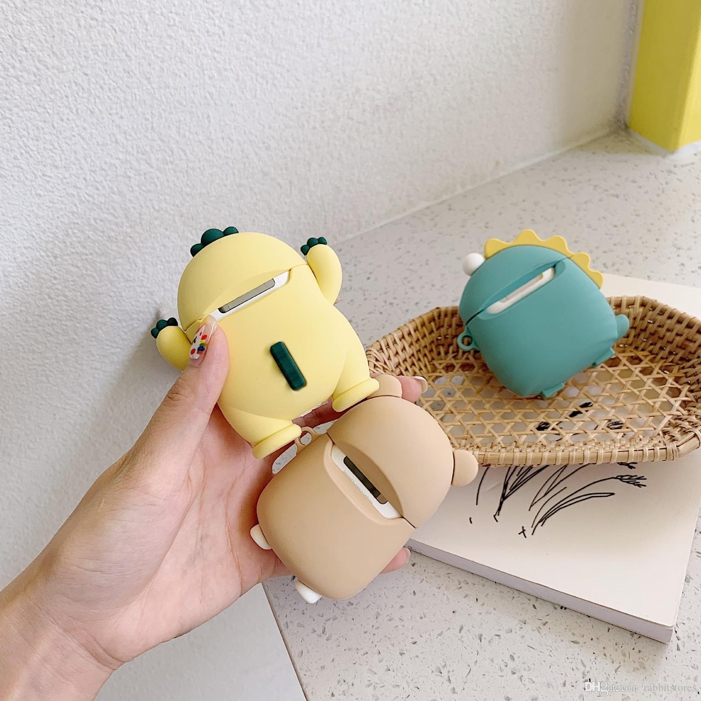 Nette Kleintiere Weich Geeignet für Airpods1 / 2 Bluetooth Headset Sets gängiger Marken Silikon Airpods Fall Schöne männlichen und weiblichen Models