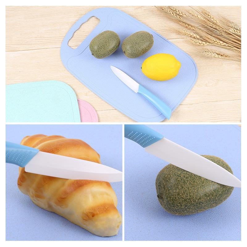 Nordic Thicken Chopping Board Creative Mildew Proof Cutting Board Wheat Straw Non-Slip With Home Supplies Kitchen Accessories
