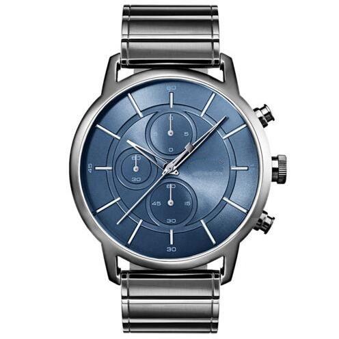 Reloj 2018 nuevo modelo de reloj de arquitectura para hombres - Gris - Acero inoxidable PVD Gris 1513574