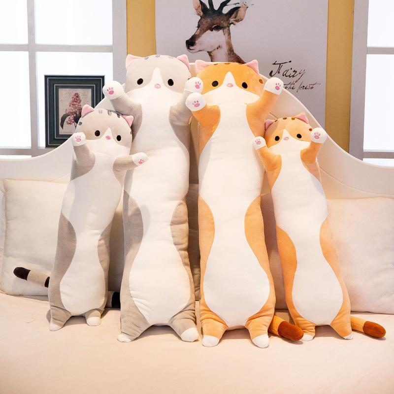 봉제 장난감을 동물이 고양이 귀여 창의적인 장 부드러운 장난감 Office 점심 휴식을 낮잠을 자는 베개 쿠션 인형 인형을 선물에 대한 아이들