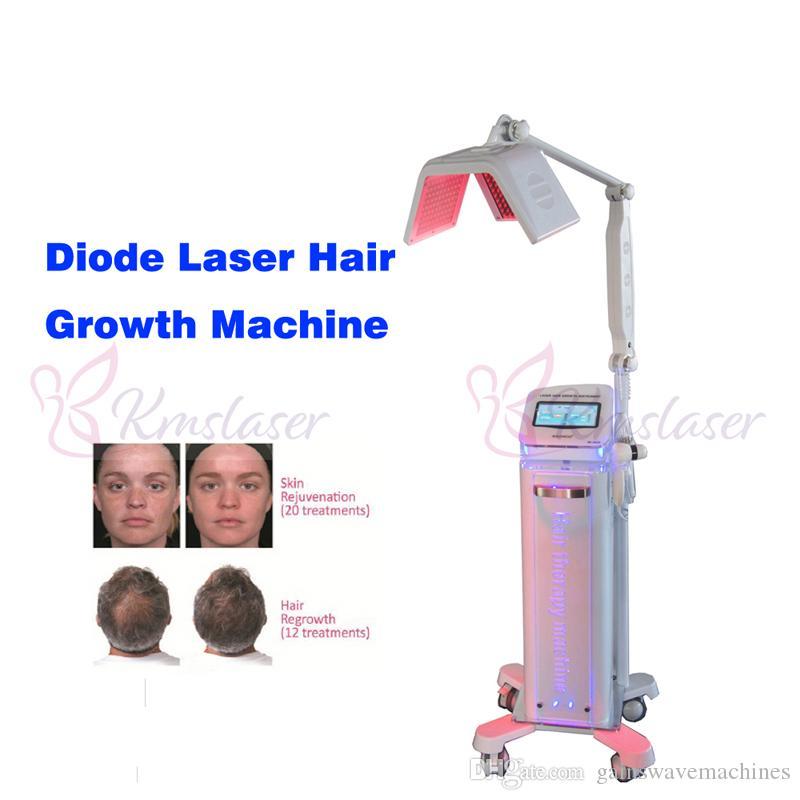 2019 NUEVA máquina de crecimiento de cabello con láser de diodo / nueva buena calidad láser de diodo crecimiento de cabello / láser de diodo para el tratamiento de la pérdida del cabello