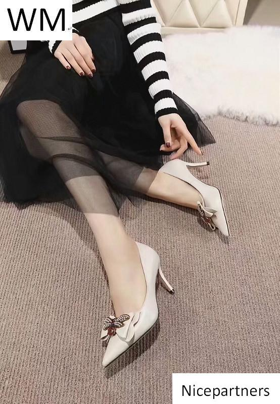 Duping520 Frauen s High Heels, Mode Spitze Schuhe der Frauen-Absatz Pantoffel Mules Slides Pumps Schuhe Turnschuhe Kleid-Schuhe