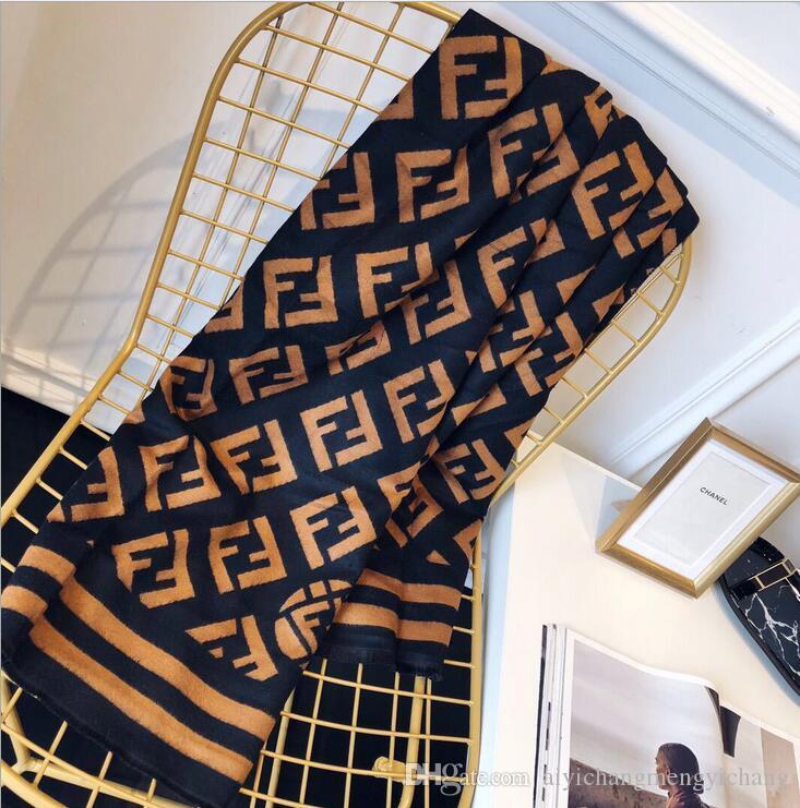 وشاح مصمم أعلى: الأوشحة الكشمير المألوف عالية الجودة ، والأوشحة الكشمير التقليد الفاخرة ، 180 * 70 سم.
