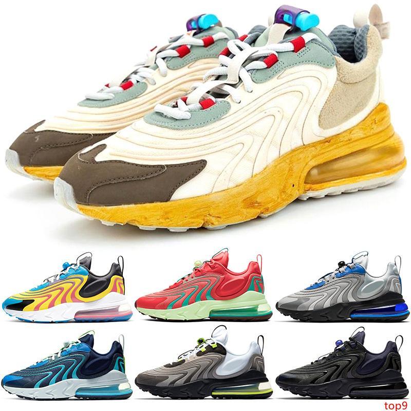Reagire ENG Uomini Donne Scarpe da corsa Percorsi cactus Archivio Bauhaus Triple Nero Bianco Oreo Mens Trainer Sport Sneaker Taglia 36-45