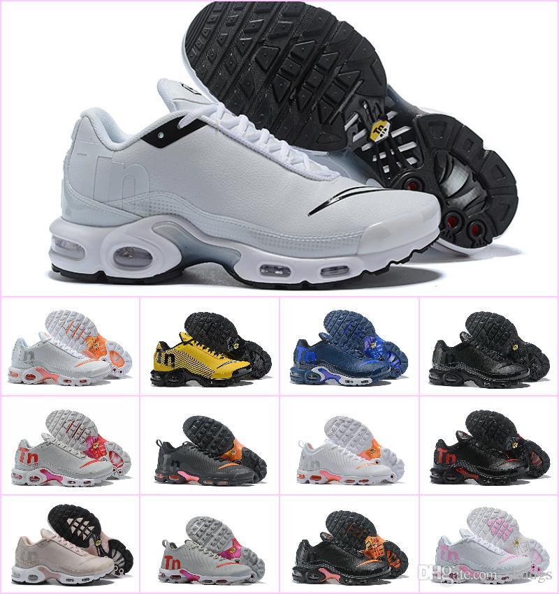 2019 Zapatillas de deporte de diseñador para hombre Mercurial Plus TN Shoes TN para hombre Zapatillas de deporte Zapatillas de deporte de lujo Chaussures Plus Maxes Zapatos Hombre Calzado deportivo