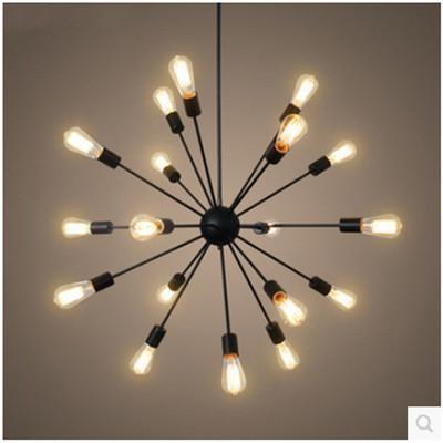moderne Pendelleuchte Eisen Metall Kronleuchter Beleuchtung E27 Satelliten hanglamp Wohnzimmer Esszimmer nordic Lampe