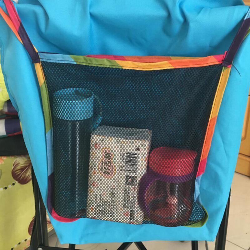 رضيع عربة العربة شبكة شنقا حقيبة التخزين جيب المقعد نقل حقيبة عربة اطفال لوازم الاطفال عربة