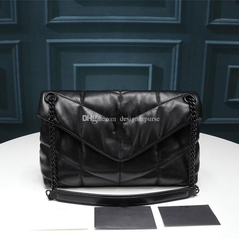 borse di lusso Designer borse LOULOU PUFFER progettista bag Nuove donne borsa in vera pelle borse crossbody moda borsa tracolla signora