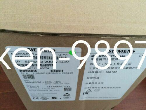 1PC en caja Siemens 6SE6440-2UD31-5DB1 6SE644O-2UD31-5DB1