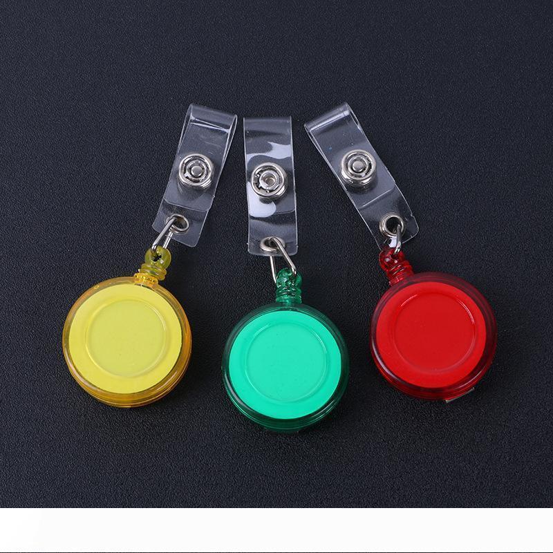 B retrátil Lanyard ID Card emblema carretéis suporte com telefone celular ID Clipe mantenha a tecla wa3193 Seguro