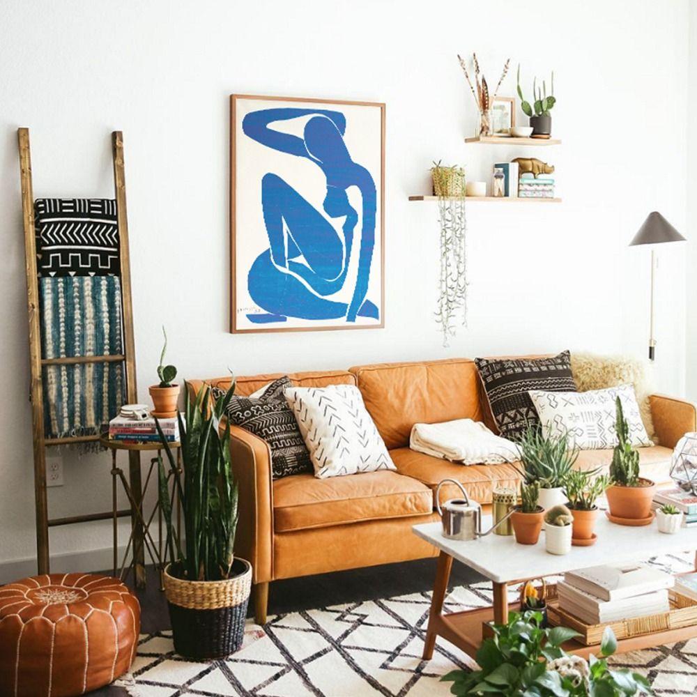 Fransız Henri Matisse Mavi Nü Wall Art Canvas Salon Dekorasyonu için İskandinav Posterler Baskılar Duvar Resimleri Boyama