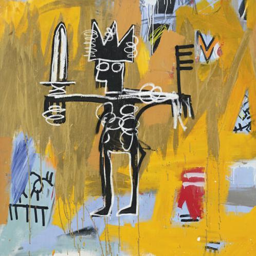 arte Jean Michel Basquit Graffiti Julio César Decoración Artesanías / impresión de HD pintura al óleo sobre lienzo de arte pared de la lona 200226