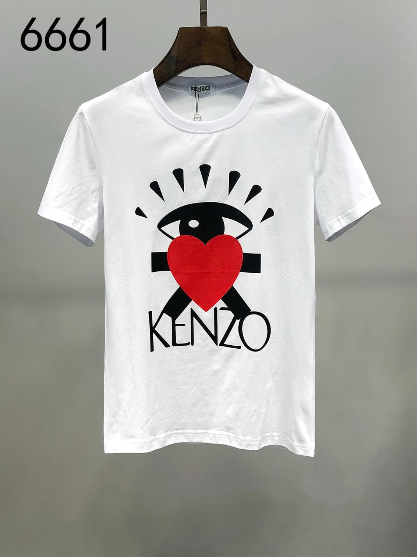 Mens T-shirt moda casual di tendenza di formato M-3XL confortevole WSJ042 traspirante # 111535 morning_sun06